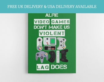 Gift For A Gamer, Game Room Decor, Gaming Gifts, Game Lover, Playstation Decor, Xbox Decor, Funny Gamer Quote, Gaming Poster, Gamer Print,
