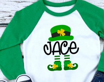 05fb87bff Boy St Patricks Day Shirt, St Patricks Day Boy Shirt, Boys Personalized  Shirt, St. Patricks Day Gift, Kids Fashion, Kids Gift, Gift for Boy