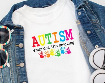 bab74d658 Kids Autism Shirt, Autism Kids Shirt, Kids Autism Awareness Shirt, Special  Needs, Special Needs Awareness, Gift ideas for Girls