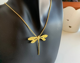 vm1219 2 of 925 Sterling Silver 24K Gold Vermeil Style Small Dragonfly Charms 13x15 mm