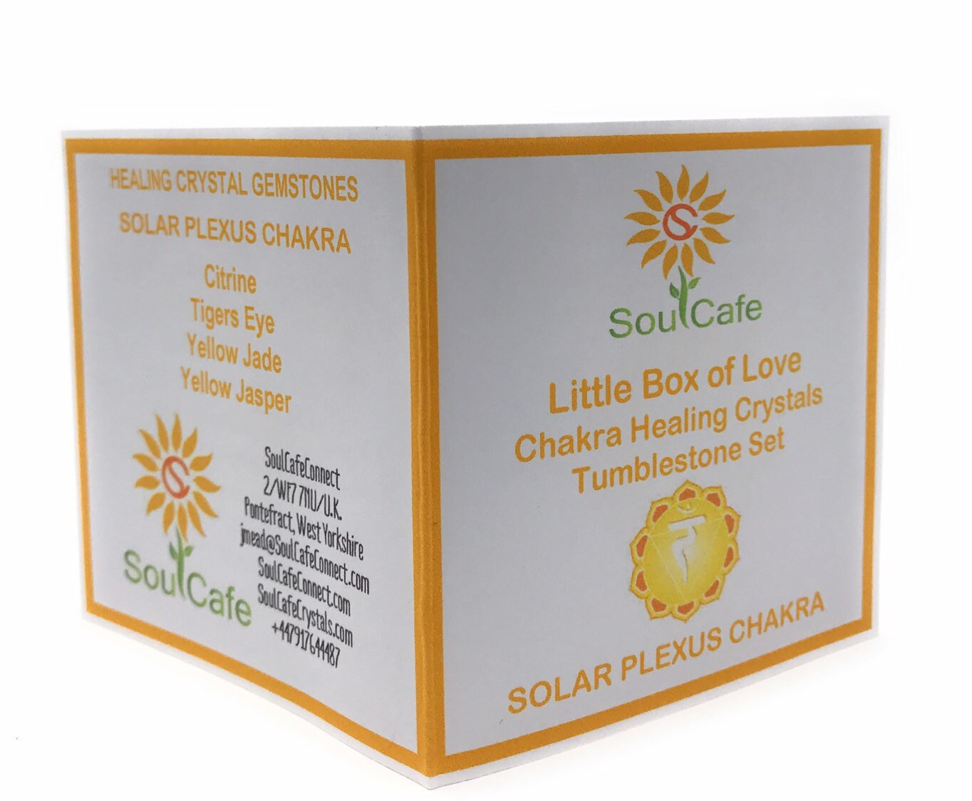 Solar Plexus Chakra Balancing Set - Healing Crystal