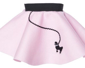 BABY/Infant (0-12 month) 50's POODLE SKIRT - Light pink