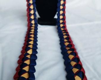 Graduation Lei - Open-Ended Ribbon Lei