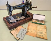 Free Westinghouse 103 Hand-Crank Sewing Machine - Gorgeous