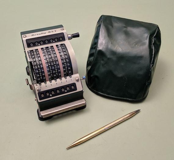 Resulta BS7 Mechanical Calculator and Adding machine