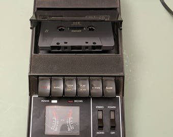 The Fischer RC70 cassette recorder