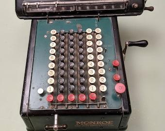 Monroe High-Speed Adding Calculator - c1920