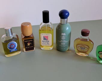 Retro Men's Cologne Fragrances From the 1970s