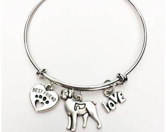 Brittany Spaniel Best Friend Charm Bracelet