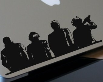 Final Fantasy 15 Decal- Brotherhood Decal- Noctis,Ignis,Gladiolus,Prompto- Final Fantasy 15 Inspired Decal
