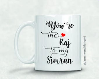 Raj to my Simran- Gift for Chai Lover | Chai Cup | Bollywood Gift