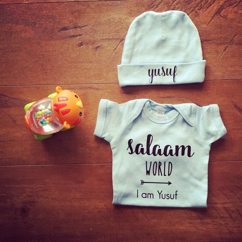 ae04faca4 Muslim Baby Gift Customized Muslim Gift Personalized Muslim