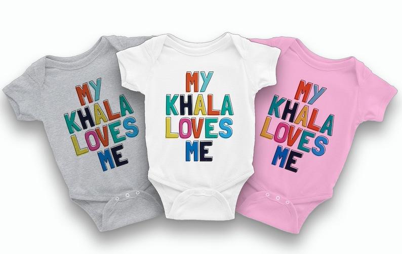 Khala loves me Bodysuit - Indian Baby Gifts