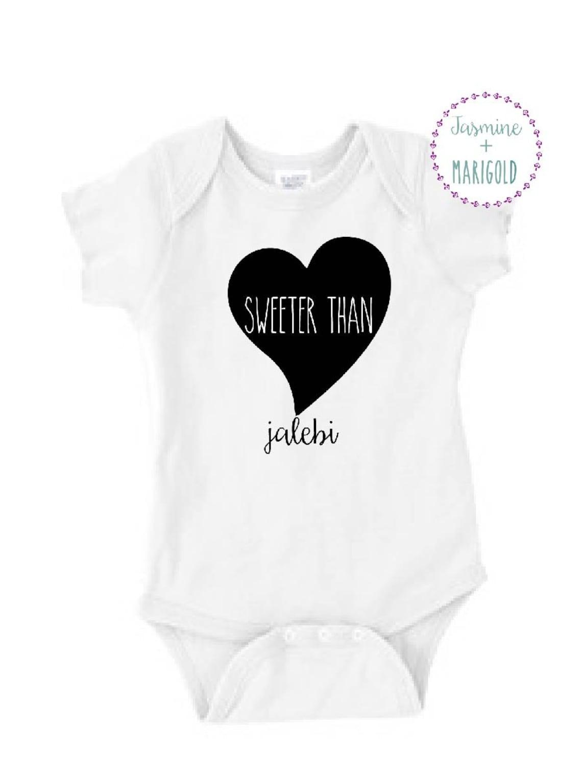 sweeter than jalebi tm bodysuit funny indian baby gift etsy My Sweeter 50