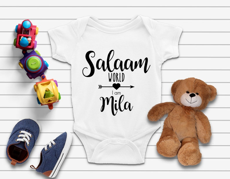 Customized Muslim Baby Coming Home Outfit