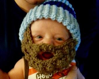 Baby beard hat  ef64d8495bf7