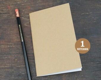 Notebook, 3.5 x 5.5, Journal, Sketchbook, Bulk Journal, Blank Notebook, Bulk Notebook, Blank Journal, Kraft Notebook, Blank Page Journal.