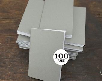Blank Bulk Notebooks, 3.5 x 5.5, Gray, Journal, Sketchbook, Blank Notebook, Bulk Sketchbook, Blank Journal, Bulk Notebook, Bulk Journal