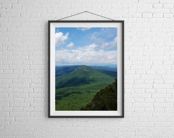 WNC Mountains,Landscape Photography, Wall Art, Nature Print, Home Decor,Art Photography, Print, Wall Picture