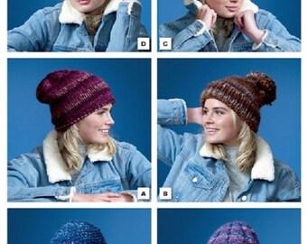 00062fc1896040 Hats in Super Chunky yarn