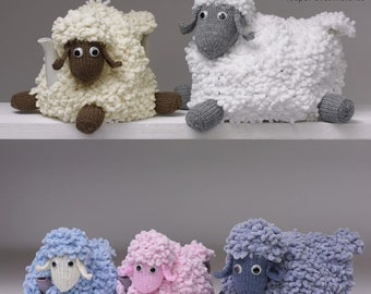 Sirdar 8219 Knitting Pattern Christmas Teacosies in Bonus Glitter DK /& Funky Fur
