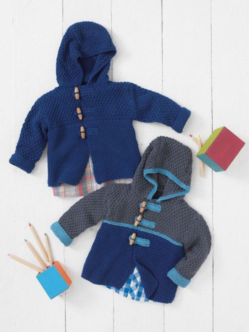 Knitting Pattern Bébé Fille Fleur Motif Cardigan Enfants à Manches Longues Sirdar