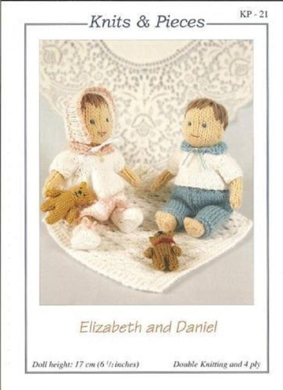 Elizabeth and Daniel Knitted Dolls and Accessories Knits & | Etsy
