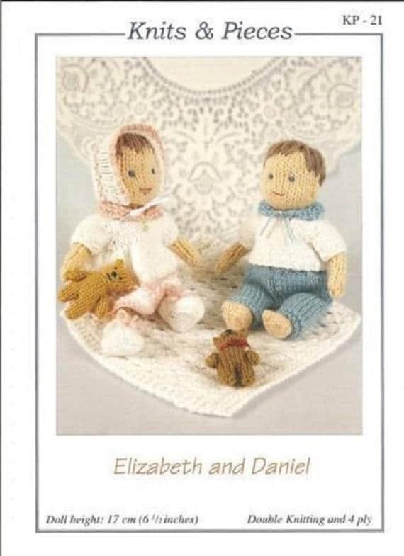Elizabeth y Daniel punto muñecas y accesorios tejidos y | Etsy