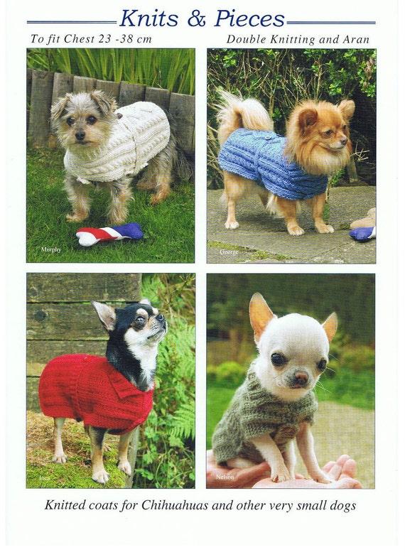 Strickanleitung für Hundemantel Hundepullover sehr kleiner | Etsy