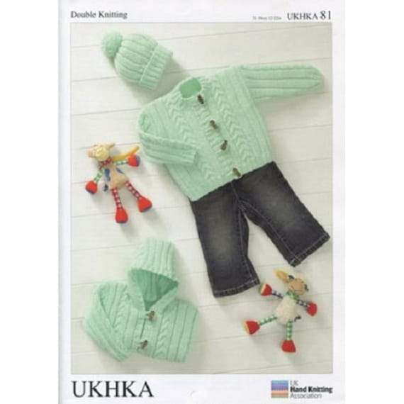 Cardigans Double knitting pattern UKHKA\90