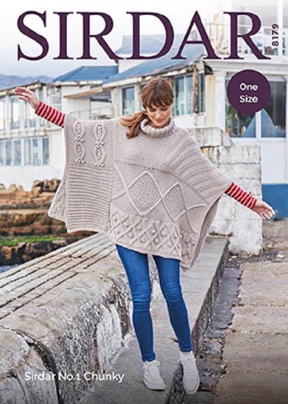 Bonnet /& Blanket 5188 Chunky Sirdar Baby Girls Knitting Pattern Matinee Coat