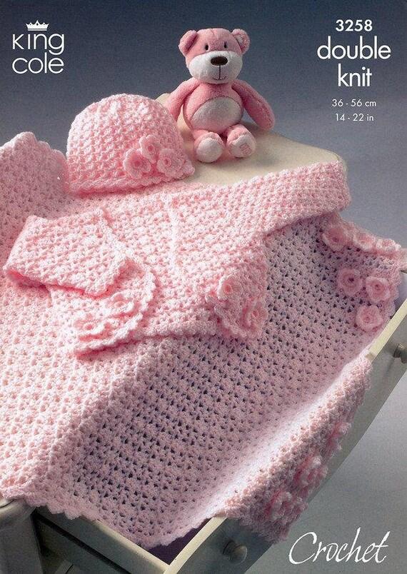 BABY HATS KNITTING PATTERN-/'Teddy Brand/' Bonnet,Cabled,Tassel DK Birth-2Yrs