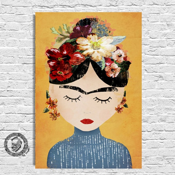 FRIDA KAHLO 2  PAINTING POPULAR GIFT WALL DECOR ART PRINT POSTER A3 SIZE