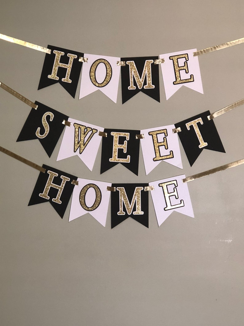 House warming banner