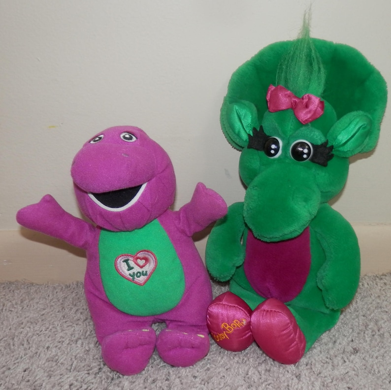 barney purple dinosaur sing