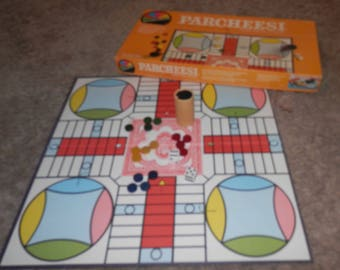 parcheesi royal game of india 1982 version vintage