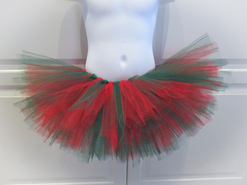 56ec91391d76 Red and Green Tutu/Christmas Tutu Other Colors Available | Etsy