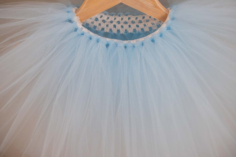 Light Blue Tutu Alice in Wonderland Inspired Tutu Cinderella Tutu
