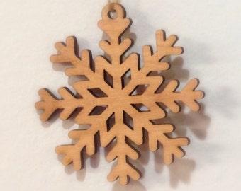 Snowflake Christmas Tree Ornaments