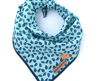 Paisley dog bandana - NOME // Dog accessories // Blue dog bandana // Puppy bandana // Pet bandana // Dog scarf // Dog bandana paisley