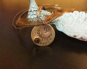 Custom Zodiac Necklace
