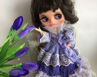 Purple dress  Blythe