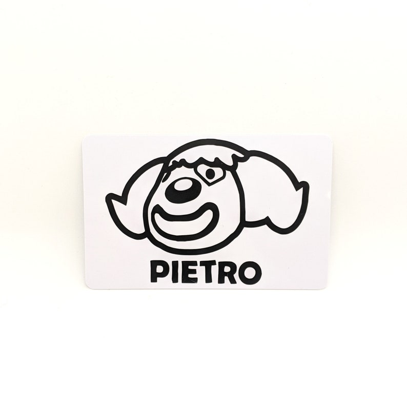 Animal Crossing NFC Amiibo Card Pietro travaille avec ACNH | Etsy