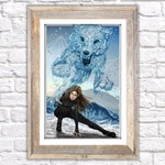 Feyre - Defender of the Rainbow Print (12x18in)
