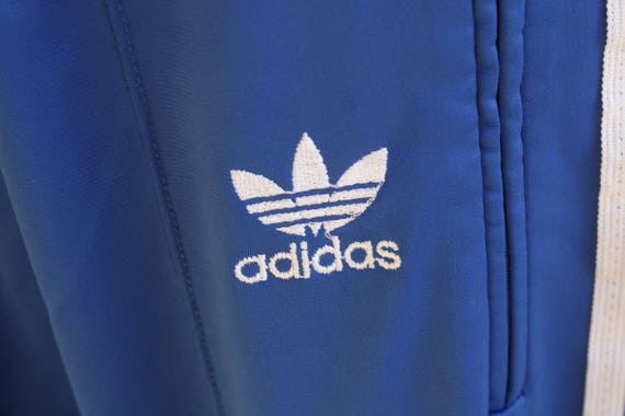 Adidas ATP Keyrolan Blue Trefoil Full Zip Track Jacket Men's