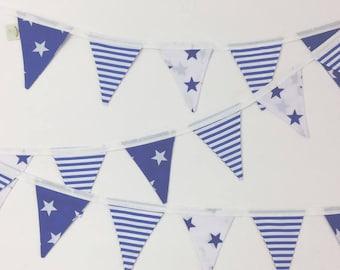 Blue Stars & Stripes Bunting