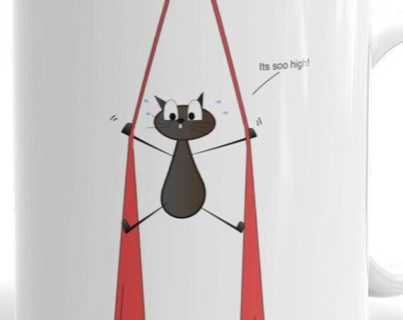 Aerial problems Cat Mug 01