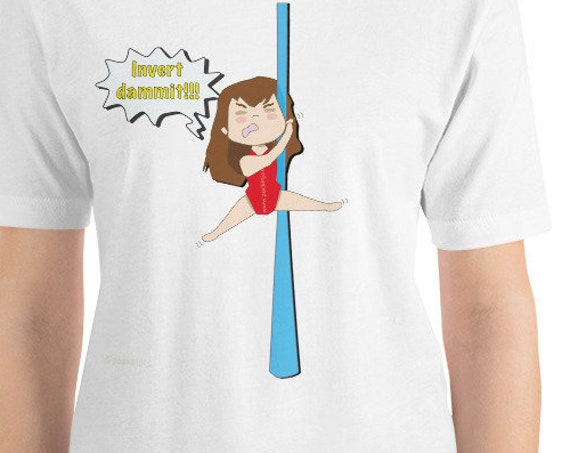 Short-Sleeve Unisex T-Shirt, aerial silks, circus gift, circus humour, funny t-shirt, acrobat gift, gymnast gift
