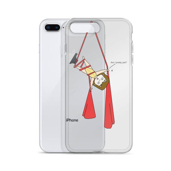 Aerial silk case, aerialist circus gift, Aerial circus, aerial problems, iphone case, aerial silk, circus party, unique case, Slimfit case