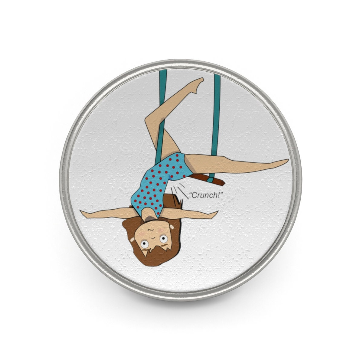 Aerial Trapeze Pin Metal Pin Aerialist
